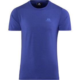 Mountain Equipment Groundup Tee Herre sodalite blue